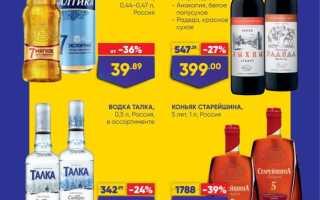 Акции в Ленте сегодня: каталог Алкогольной продукции с 4 по 17 марта 2021 года
