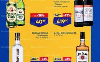 Акции в Ленте сегодня: каталог Алкогольной продукции с 24 июня по 7 июля 2021 года