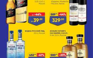 Акции в Ленте сегодня: каталог Алкогольной продукции с 18 по 31 марта 2021 года